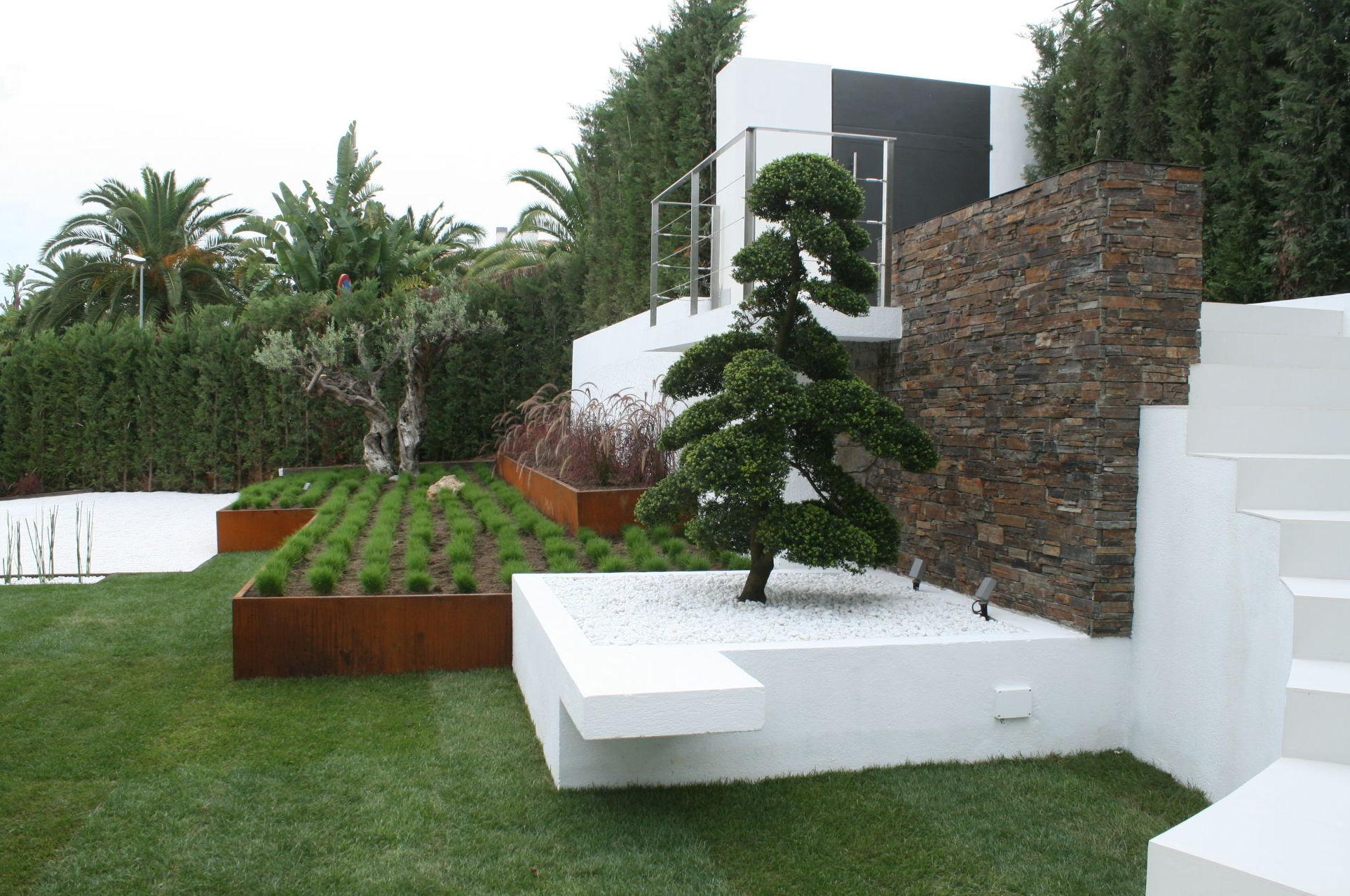 Como dise ar un jard n moderno vivero en onil centro de jardiner a font roja onil - Fotos de jardines modernos ...