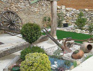 Como decorar un jard n r stico vivero en onil centro for Como hacer un jardin rustico