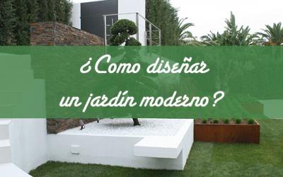 ¿Como diseñar un jardín moderno?