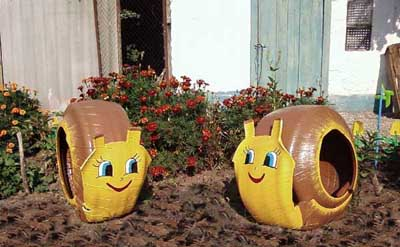 neumaticos-ruedas-caracoles-jardin